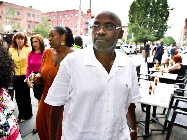 Kenneth Black, the youngest son of Sylvia Woods, the late owner of Sylvia's Restaurant in Harlem on July 19, 2012.