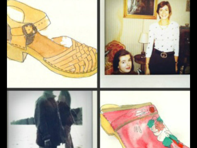 For Brooklyn designer Nina Ziefvert, known to fans of her shoes as Nina Z, inspiration comes in many forms, including this picture of her parents. Ziefvert was inspired by the shoes her mother wore in Sweden in the 70s.