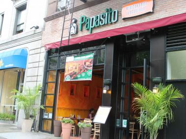 Papasito on the Upper West Side is now shuttered.