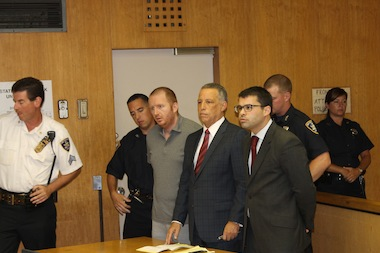 Jason Bohn at Queens Supreme Court on Monday, July 23rd, 2012.