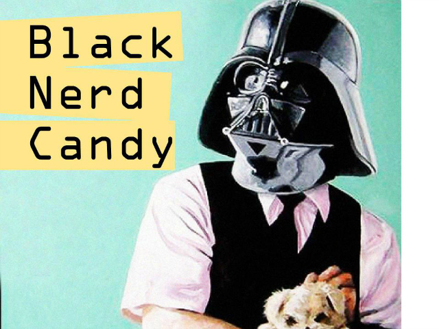 "Vader's recent self-released album, ""Black Nerd Candy."""