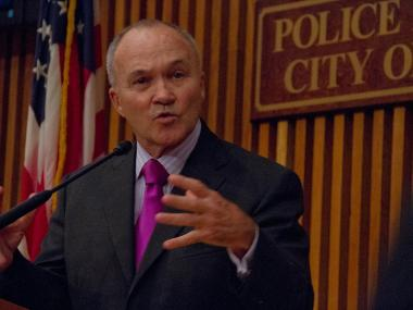 Police Commissioner Ray Kelly said he hasn't yet decided whether he would want to stay on as the city's top cop.