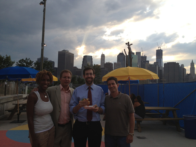 Visitors Can Now Get Boozy at the Beach Shack in Brooklyn Bridge Park.