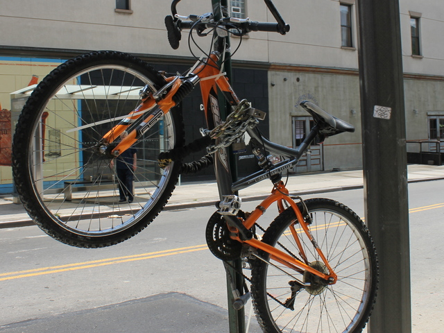 Deputy Inspector Terence Hurson said bike thefts had quadrupled since last year.