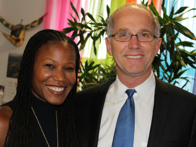 Majora Carter recently met with Christopher Portier, a director at the Centers for Disease Control and Prevention. Carter now heads a for-profit consultancy that advises private and public organizations.