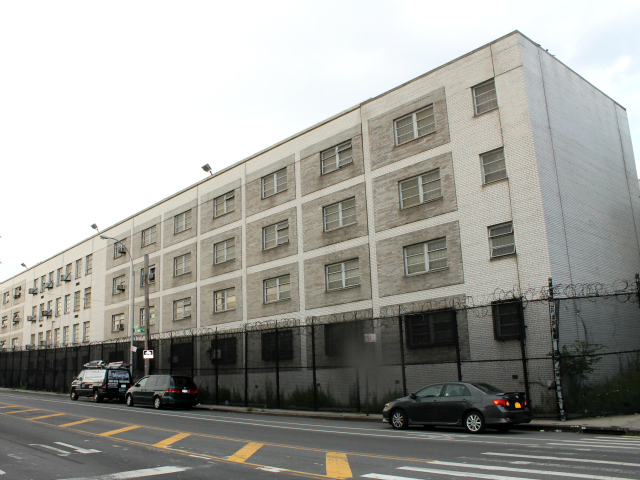 The former detention center site covers 164,000 square-feet on Spofford Avenue, between Tiffany and Barretto Streets.