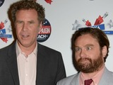 Will Ferrell, Zach Galifianakis Goof Around at 'The Campaign' Premiere
