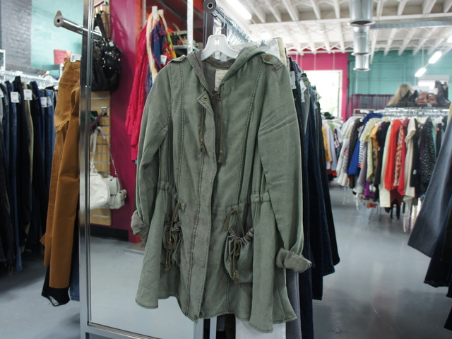 Buffalo Exchange, a second-hand chain with four New York City locations, is looking for lightweight jackets like this one as it transitions its inventory from summer to fall.
