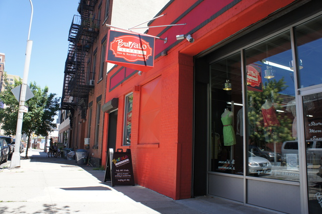 Buffalo Exchange just opened its newest outlet in Boerum Hill in Brooklyn. It's one of dozens of stores around the city where fashionistas can sell their used clothes for cash.