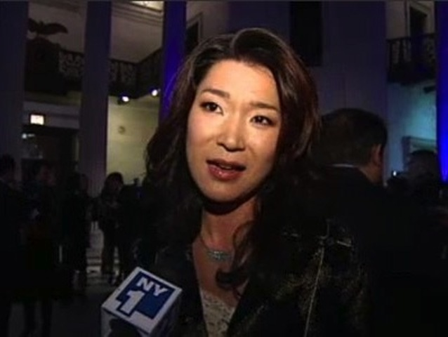 Vivian Lee, seen here being interviewed after receiving a community service award in February 2011, was punched in the neck Friday morning, July 27, 2012.