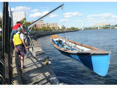 East River C.R.E.W.  has community rows that leave from the East River esplanade and East 96th Street on Tuesday evenings.