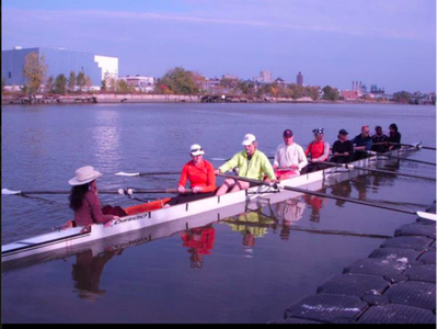 The Harlem River Community Rowing program is based out of at Roberto Clemente State Park in The Bronx.
