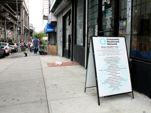 The network's Bronx Health Center is located at 975 Westchester Avenue in Longwood.