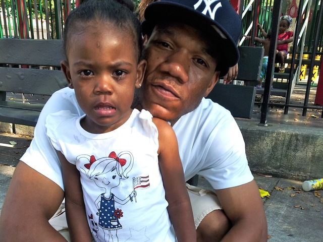 Ariyanna Prince, 2, and her father, Michael, 25, were wounded in a shooting in Brownsville on July 29, 2012.