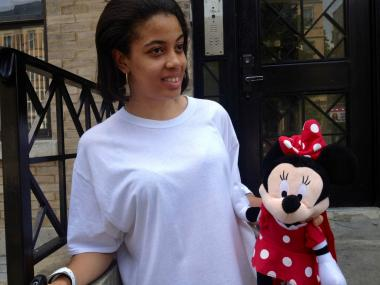 Jahlessa Westry, mother of Ariyanna Prince, went home Monday to grab her daughter's Minnie Mouse doll.