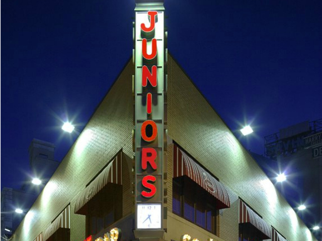 Junior's Restaurant was founded in Brooklyn in 1950. Sixty-two years later, it is still family owned and operated.