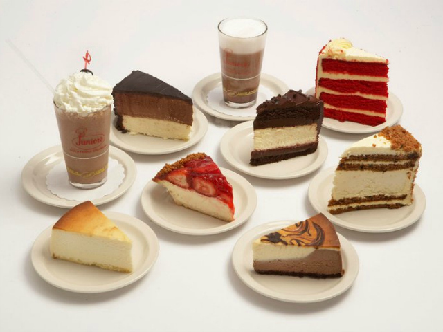 Junior's Restaurant is best known for its incomparable cheesecake.