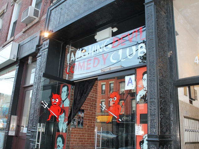 The Laughing Devil Comedy Club opened in December last year.