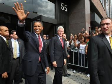 There will be a swath of street closures as President Barack Obama heads to New York for a U.N. speech, Sept. 24, 2012.