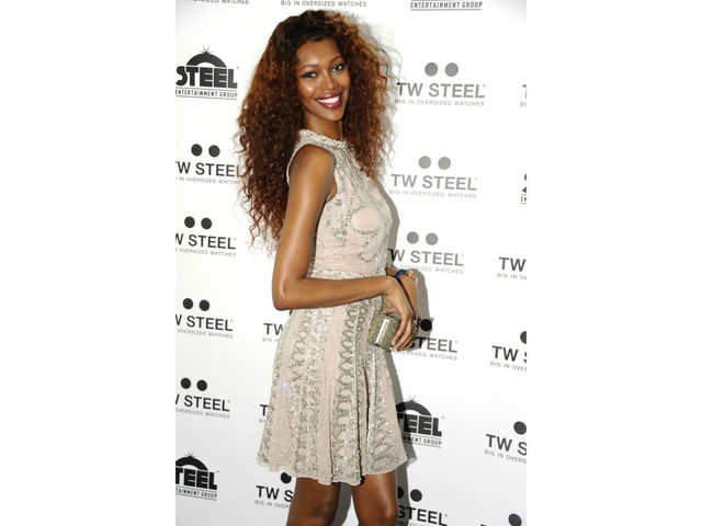 Jessica White at the launch of the Kelly Rowland CEO Tech Special Edition watch at the Top of the Standard, Tuesday, July 31, 2012.