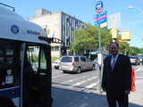 New Avenue J Bus Stops Reduce Schlep for Midwood Riders