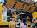 Food Trucks Giving Free Meals to Hungry New Yorkers After Hurricane Sandy