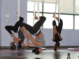 Aerial Yoga Brings Workout Enthusiasts to New Heights