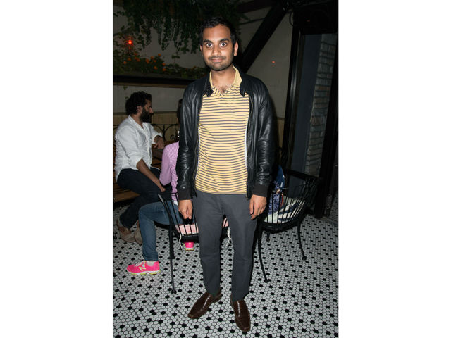 Aziz Ansari at the screening of