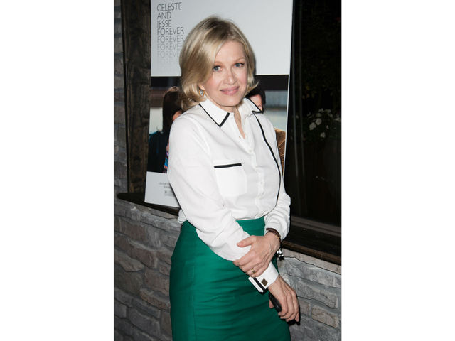 Diane Sawyer at the screening of