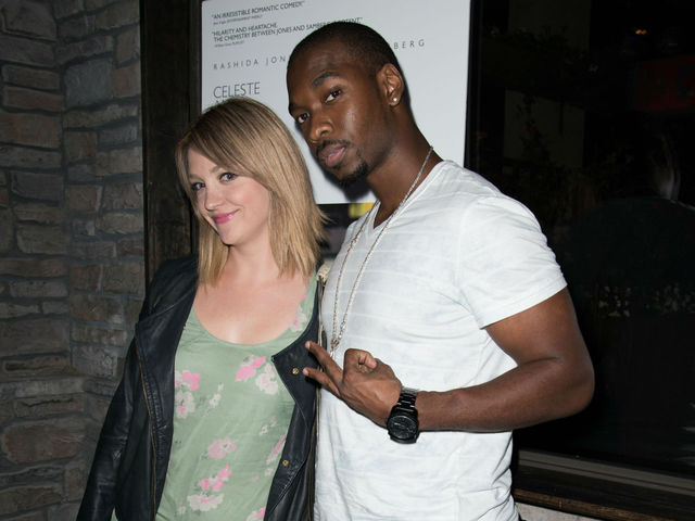Abby Elliott and Jay Pharoah at the screening of