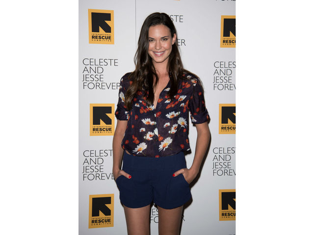 Odette Annable at the screening of