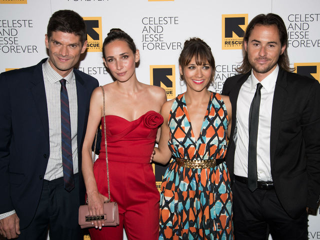 Will McCormack, Rebecca Dayan, Rashida Jones and Lee Toland Krieger at the screening of