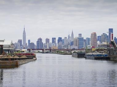 Sewage bacteria has unintentially been released into air above Newtown Creek, a study shows.