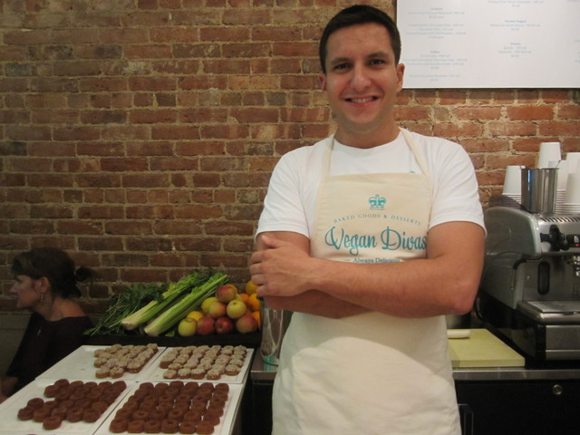 Felipe Saint Martin, the cousin of Fernanda Capobianco, will manage the new UES Vegan Divas dessert spot.