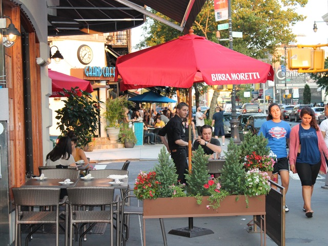 Currently, Astoria has more than 50 sidewalk cafes.