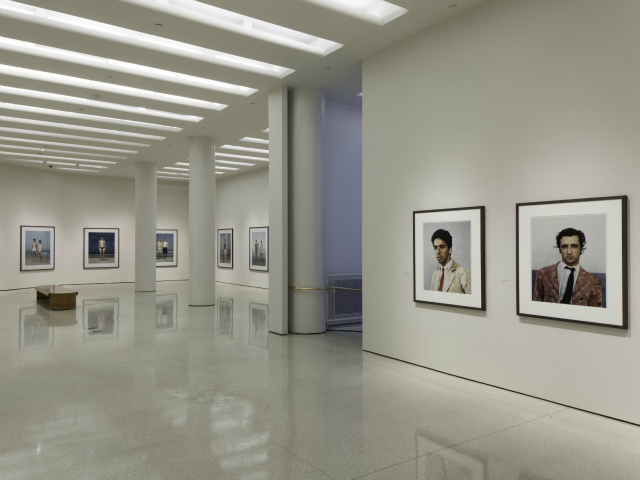 Installation view: Rineke Dijkstra: A Retrospective, Solomon R. Guggenheim Museum, June 29–October 8, 2012