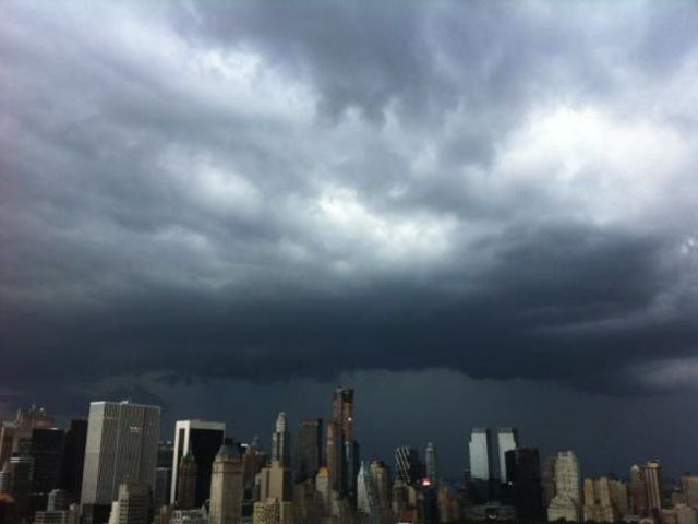 A nasty storm hit the city Aug. 5, 2012.