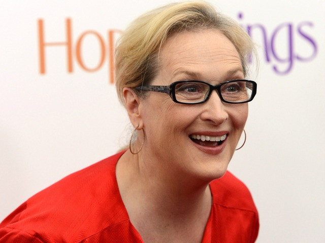 Meryl Streep attends the premiere of