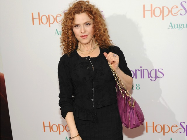 Bernadette Peters attends the premiere of