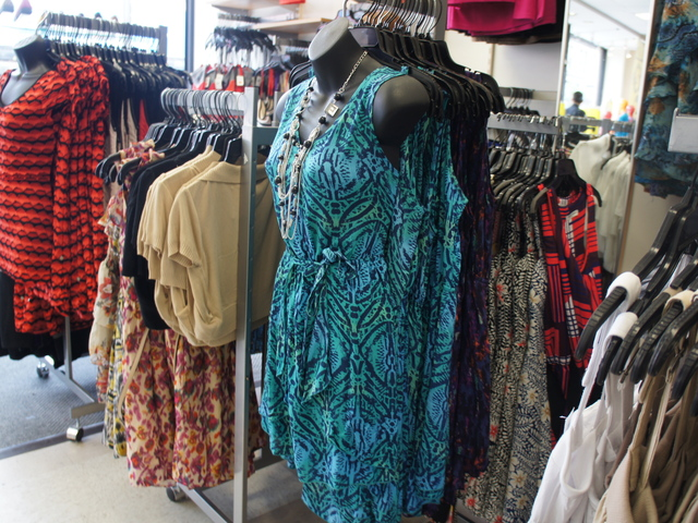 An African-inspired tribal print dress at Rainbow in Bed-Stuy. While chain stores are chock-a-block with tribal prints, smart shoppers can get the real deal for cheap in Brooklyn.
