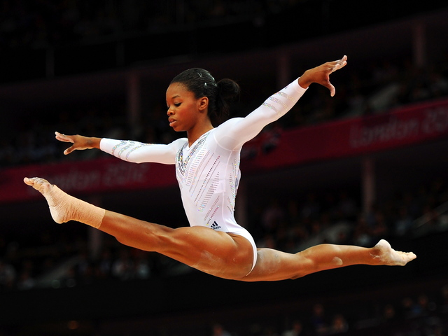 Gymnast Gabby Douglas, a two-time gold medalist, will perform Nov. 18 at the Barclays Center with other members of the U.S. Olympic women's gymnastic team.