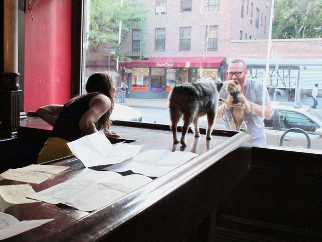 The East Village is ripe for dog and human socializing, according to owners of Ruff Club, Danny Frost and Alexia Simon Frost.