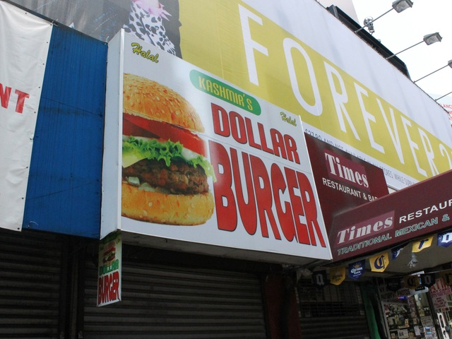 Kashmir Grill renamed itself Kashmir's Dollar Burger at the end of last year.