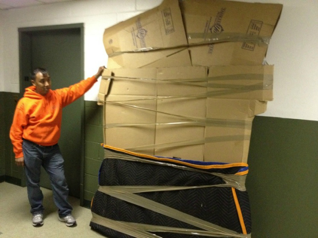 Moving experts, like Yankee Movers (pictured), suggest booking early.