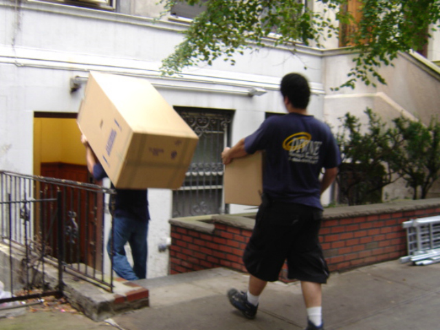 Moving experts, like Divine Moving & Storage (pictured), say the summer is the busiest season.