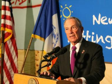 Mayor Michael Bloomberg said that it would be great if police recovered zero guns on the streets.