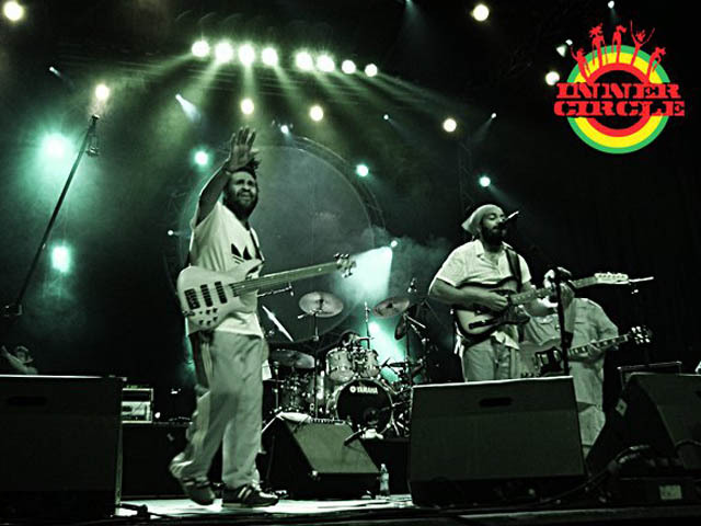 Reggae stalwarts Inner Circle are playing Central Park on Sunday.