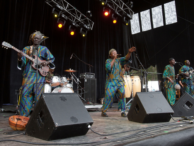 Sierra Leone's Refugee All Stars will perform at the Two Boots 25th Anniversary festival on August 23 at East River Park.