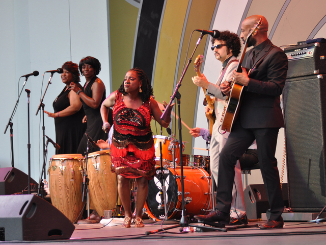 Sharon Jones and Dap-Kings will perform on August 18 at Williamsburg Park.