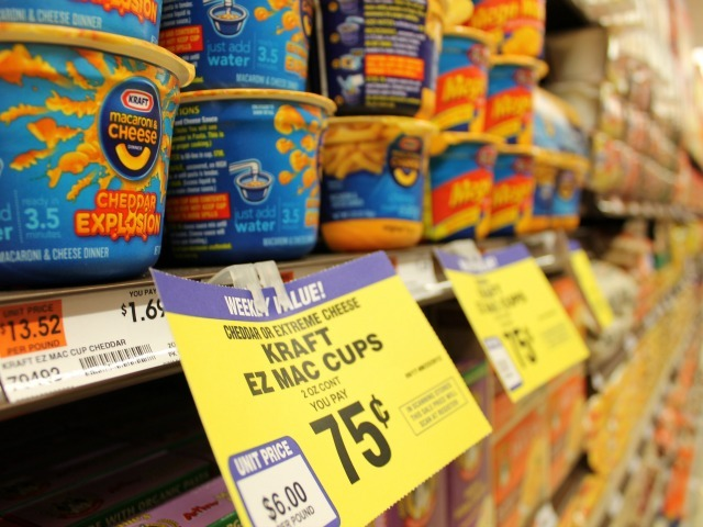The new 55 Fulton Market is already offering some sale items, including instant macaroni-and-cheese for 75 cents.